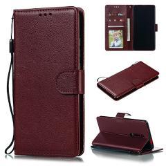 Redmi Note 7 8T 6 Pro 7A 6A 5A 5 Plus K20 Pro Flip Wallet Leather Case For Xiaomi Mi A1 A3 9T Pocophone F1 CC9 Cards Wallet Case