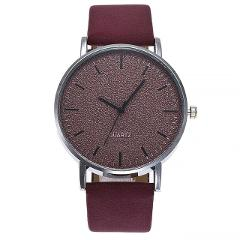 Women's watches brand luxury fashion ladies watch women leather 7 colors Grind Clock dial Clock Wristwatch Relogio Masculino #A