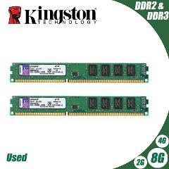 Kingston PC Memory RAM Memoria Module Computer Desktop 1GB 2GB PC2 DDR2 4GB DDR3 8GB 667MHZ 800MHZ 1333MHZ 1600MHZ 8GB 1600