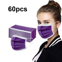 Disposable Face Mask Personal Mask 3Ply Ear Loop Non-woven  Reusable Washable Dust Mouth Cover Anti-PM2.5 Adult Mask