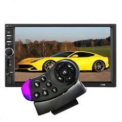 7010B 7012B 7018B Universal Steering Wheel Wireless Remote Control Simple Purple Black For Car MP5