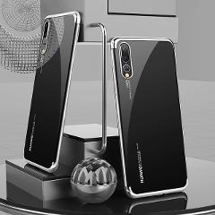 Case for Huawei Mate 30 Pro P40 Lite P30 Pro Lite P20 Nova 3 4 Mate 20 10 Magnet Stand Car Holder Transparent Cover
