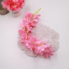 34cm Rose Pink Silk Peony Artificial Flowers Bouquet Cheap Fake Flowers For Home Wedding Garden Decoration Indoor