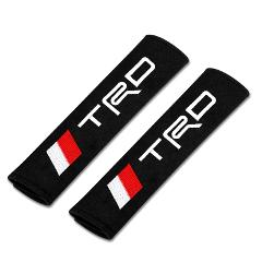 Car Safety Seat Belt Pads Harness Safety Shoulder Strap Cushion Cover for Toyota TRD hilux Corolla Camry RAV4