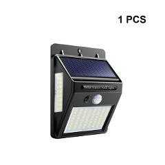 Street lamp 100 LEDS Outdoor Solar LED Street Light lamp with motion sensor lights plaza Garden Fence Emergency Lighting