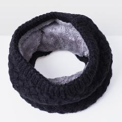 Women Winter Scarf For Women Men Knitted Baby Ring Scarf Children Scarf Neck Cotton Thickened Collar Scarves For Girls