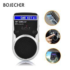 Solar Powered Speakerphone Wireless Bluetooth Handsfree LCD Display Car Kit Bluetooth Speaker For Mobile Phone Hands Free
