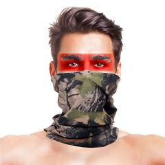 Summer Outdoor Scarf Women Men Tube Shape Polyester Military Outdoor Camouflage Neck Warmer Face Mask Scarves Sports Accessories