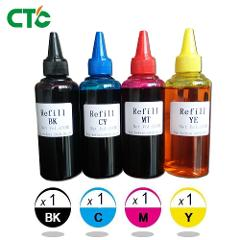 4x100ml Universal Compatible Refill Dye Ink kit Replacement For HP for Canon for Brother for Epson for Lexmark Printer