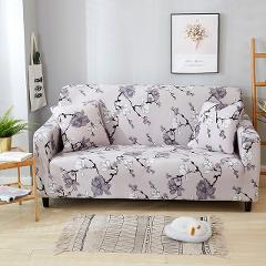 1/2/3/4 Seat Printed Sectional Stretch Sofa Slipcovers Elastic Stretch Sofa Cover For Living Room Couch Cover Armchair Cover