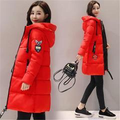 Women's 2019 Winter Jacket Women's coat Hooded Coat women's coat thick cotton lining winter women's basic coat
