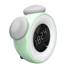 2018 Premium Utorch Intelligent Sensor LED Night Light Bedside Lamp with Digital Alarm Clock Smart Timing Sleep