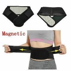 Waist Trimmer Men Women Posture Corrector Support Magnetic Back Support Brace Belt Lumbar Double Adjustable Pain Relief
