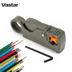 Vastar Automatic Stripping Plier Cable Stripper Tools Double Blades stripped Wire With Hexagon Wrench Tools Nipper