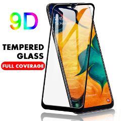 9D HD Tempered Glass for Samsung Galaxy A50 A70 A40 A80 A90 A30 A20 Protective Screen Glass for Galaxy M30 M20 M10