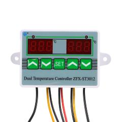 1500W Temperature Controller Dual Display Microcomputer Intelligent Digital Electric Thermostat Temperature Control Switch