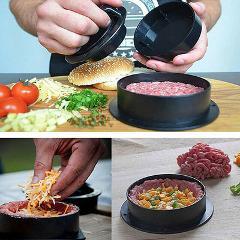 Hamburgerpress Burgerpresse Pattypresse Kochen Grill Maker Fleischpresse Steak