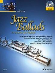 JAZZ BALLADS - arrangiert für Querflöte - Klavier - mit CD [Noten / Sheetmusic] aus der Reihe: SCHOTT FLUTE LOUNGE