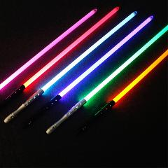 High Quality Star Wars Laser Lightsaber Sword Jedi Sith Luke Skywalker Vader Rey Weapons Light Saber Cosplay Toys With Sound
