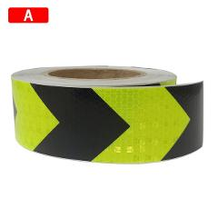 5cm*300cm Car Arrow Reflective Tape Decoration Stickers Car Warning Safety Reflection Tape Film Strip Stickers Car Styling