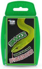 Snakes WM01605-EN1-6 Top Trumps Card Game