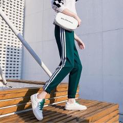 Casual Loose Leg Casual Trouser Women's Pants Korean Punk Harajuku Ulzzang Female Cute Vintage Kawaii Trousers For Women