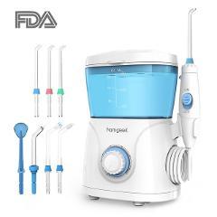 Homgeek Oral Irrigator 600ml 7pcs Tips Dental Water Flosser Teeth Cleaning Water Pick irrigators Flossing Oral Hygiene