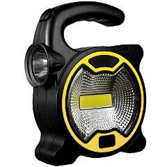 COB LED Portable Spotlight Searchlight Outdoor Camping Light Mini Lantern Handheld Work Light Flashlight for Camping Lawn