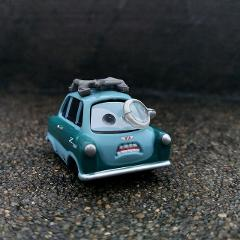 Disney Pixar Cars 2 3 Francesco Bernoulli McQueen Metal Diecast Toy Car 1:55 Loose Brand New In Stock & Free Shipping