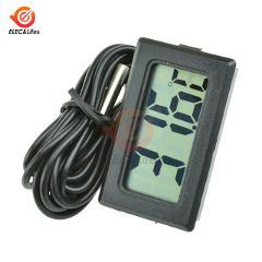2M Temperature Probe cable Indoor Outdoor Digital Thermometer Temperature Sensor Meter Thermometer Tester for Car Aquarium