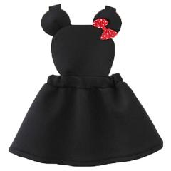 Infant Baby Kids Cute Minnie Mouse Cosplay Strap Dress for Girls Children Princess Party Brithday Dresses Spring Summer Vestidos