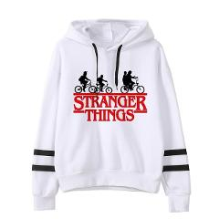 Kpop Stranger Things Hoodie Woman Hooded Hoodies Sweatshirts Kawaii Korean Oversized Harajuku Hip Hop Hoodie Sweatshirt Women