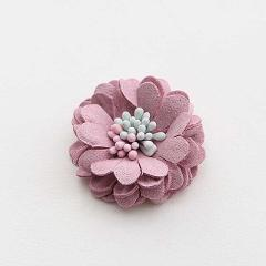 3mm Mini Fabric stamen Flowers For Girls Kids' Hair Accessories corsage and hairband diy material