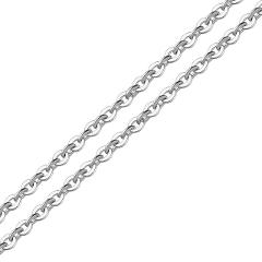 2 Meters Stainless Steel Black/Gold Link Chain Necklace Bulk Cable 2mm Width Chain for Jewelry Making Findings DIY Supplies