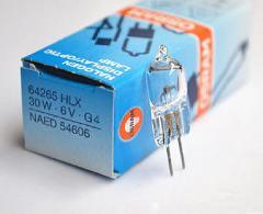 OSRAM HLX 64265 HLX64265 6V 30W G4 halogen bulb microscope lamp