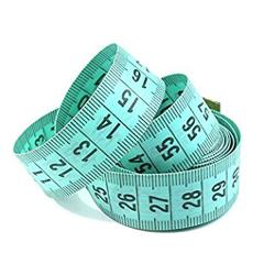 """2020 NEW 150cm/60"""" Body Measuring Ruler Sewing Tailor Tape Measure Soft Flat"""