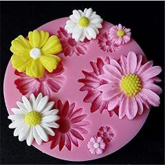 3D Flower Silicone Molds Fondant Craft Cake Candy Chocolate Sugarcraft Ice Pastry Baking Tool Mould Soap Mold Cake Decorator New