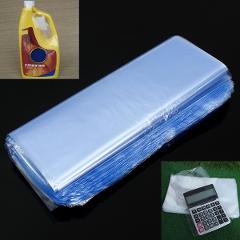 100Pcs 20X30cm Soft Transparent Blow Molding PVC Heat Shrinkable Bags Protective Film Cosmetic Packaging Plastic Materials