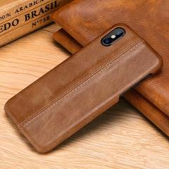 for iphone XS Max Genuine Leather Case for iphone 6 6s 7 8 9 plus 11 11Pro 11 Pro Max X XS XR 2019 Real Leather Back Cover