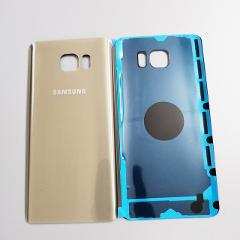 100%Original Samsung Galaxy Note5 Note 5 Back Battery Cover 3D Glass Housing Cover for Samsung Note 5 Door Rear Case Replacement