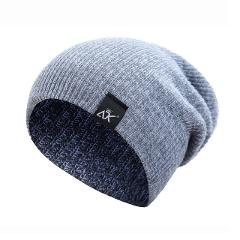 winter cap Men Cap Striped Knitted Cap Candy Outdoor Hip-hop Wool Cap Autumn and Winter Wool Cap gorras para hombre